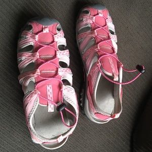 Breast cancer awareness shoes size 10